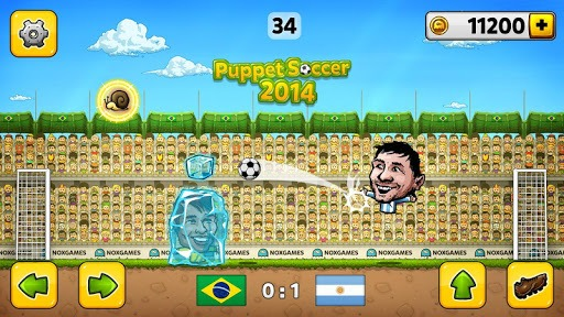 ⚽Puppet Soccer 2014 - Big Head Football 🏆 pc screenshot 1