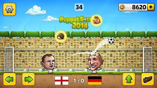 ⚽Puppet Soccer 2014 - Big Head Football 🏆 pc screenshot 2