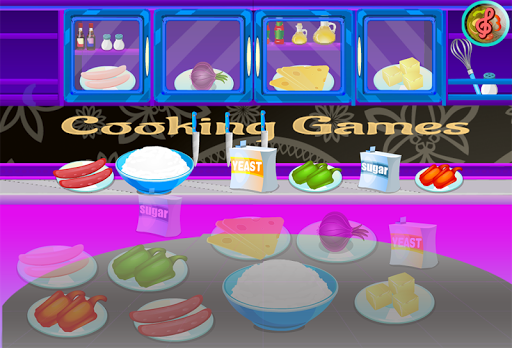 Cooking Games Pizza games girls pc screenshot 1