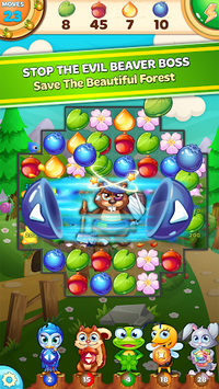 Forest Rescue: Match 3 Puzzle pc screenshot 1
