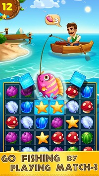 Tropic Trouble Match 3 Builder pc screenshot 1