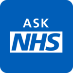 Ask NHS for pc logo