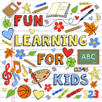 Brain Gym : Kids & Parents Learning Games MultiAge for pc logo