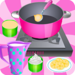 Cooking Games Ice Cream Banana icon