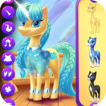Magical Unicorn Candy World icon
