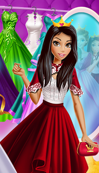 Dress Up Royal Princess Doll pc screenshot 1