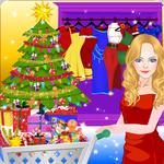 Princess Christmas Shopping icon