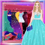Royal Princess Prom Dress up icon