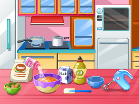 Cook a pony birthday cake pc screenshot 1