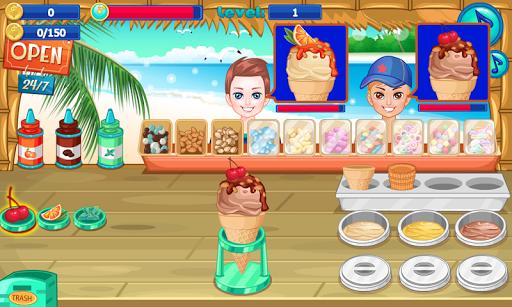 Ice cream shop on the beach pc screenshot 1