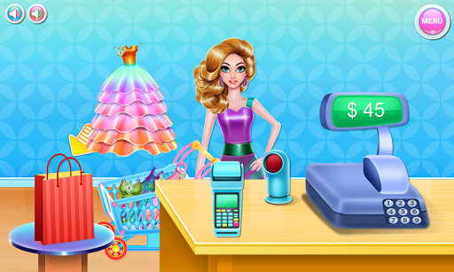 Shopping mall & dress up game pc screenshot 1