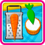 Baking Carrot Cupcakes - Coking Game icon