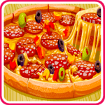 Baking Pizza - Cooking Game for pc logo