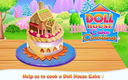 Doll House Cake Cooking pc screenshot 1