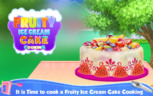 Fruity Ice Cream Cake Cooking pc screenshot 1