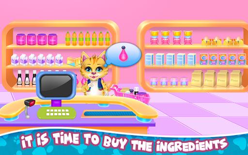 Sweet Rainbow Kitty Cookies pc screenshot 1