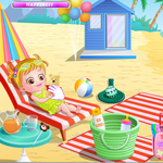 Baby Hazel Beach Holiday icon
