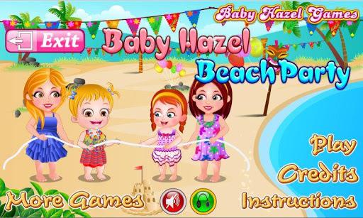 Baby Hazel Beach Party pc screenshot 1