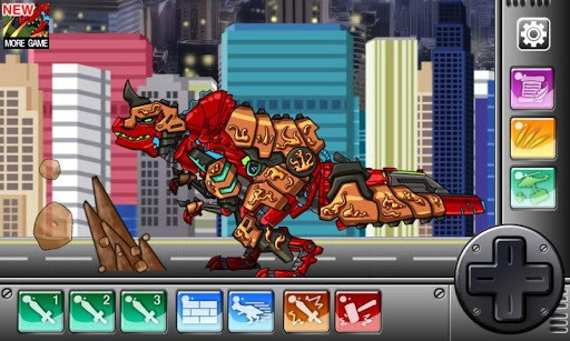 Dino Robot - Tyranno Red pc screenshot 1