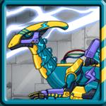 Dino Robot - Lightning Parasau icon