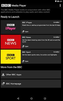BBC Media Player pc screenshot 1
