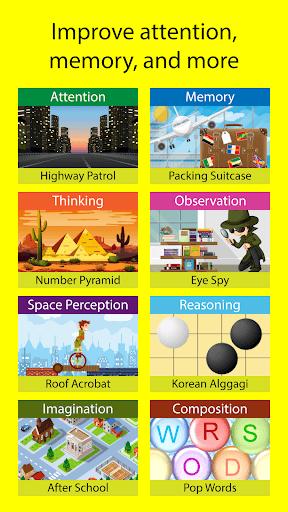Brain School: Brain Games & Cognitive Training PC screenshot 1