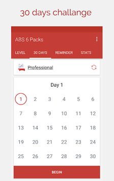 ABS Workout - Belly workout, ABS in 30 days pc screenshot 1