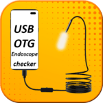 usb otg camera endoscope checker icon