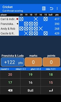 Darts Scoreboard pc screenshot 2