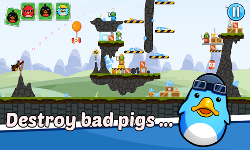 Angry Duck - Angry Chicken - Knock down pc screenshot 1