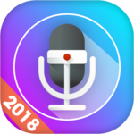 Smart voice recorder: Digital audio recording icon