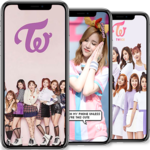 TWICE wallpapers KPOP HD for pc logo