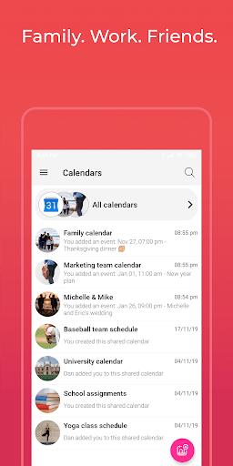 GroupCal - Free Shared Calendar pc screenshot 1