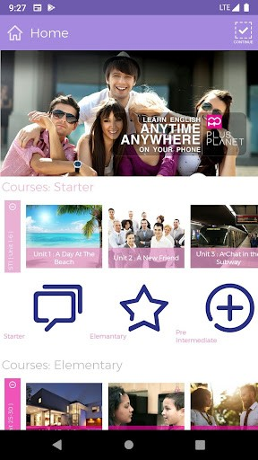 Plus Planet | Learn English Anytime Anywhere PC screenshot 1