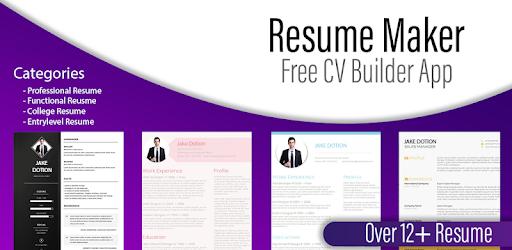 resume generator free cv maker templates builder for pc