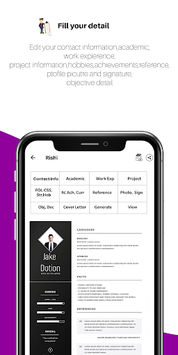 Resume Generator:Free CV Maker,Templates Builder pc screenshot 2