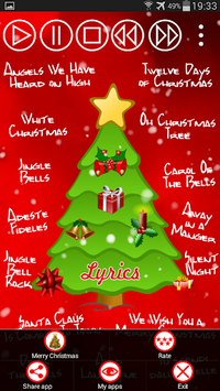 Christmas Songs Free pc screenshot 2