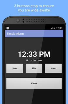 Simple Alarm Clock Free pc screenshot 1