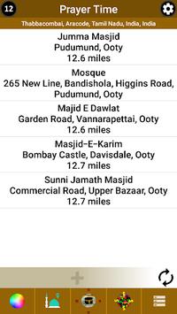 Prayer Time, Qibla & Masjid Locator for India pc screenshot 2