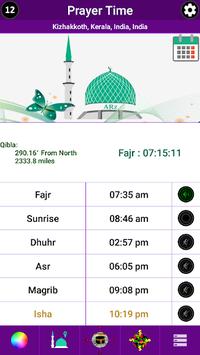 Prayer Time, Qibla & Masjid Locator for India pc screenshot 1