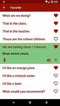 Learn French Free Offline For Travel pc screenshot 1
