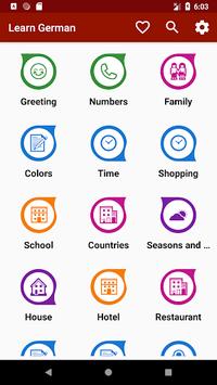 Learn German Free Offline For Travel pc screenshot 1