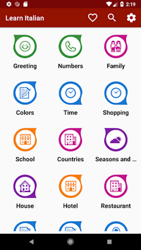 Learn Italian Free Offline For Travel pc screenshot 1