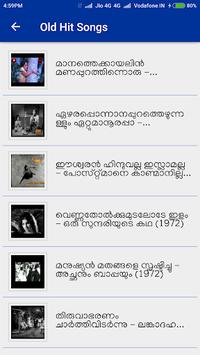 Malayalam Old Video Songs pc screenshot 1