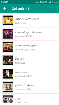New Malayalam Songs Video pc screenshot 1