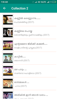 New Malayalam Songs Video pc screenshot 2