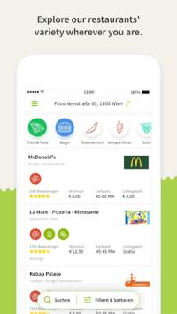 Mjam.at - Order Food pc screenshot 2