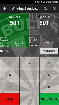 Darts Scoreboard: My Dart Training pc screenshot 1