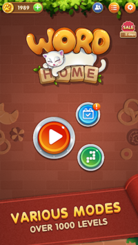 Word Home™ - Cat Puzzle Game, Merry Christmas! pc screenshot 2