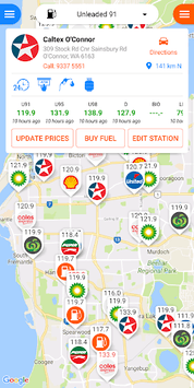 Fuel Map Australia pc screenshot 1